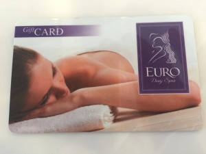 spa gift card image