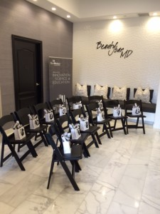 Beauty Bar MD event at OC Dermatology